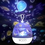 Delicacy 投影ランプ スタープロジェクター 星空ライト 寝かしつけ用おもちゃ 4セット投影映画フィルムー ナイトライト ベッドサイドランプ 3