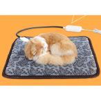 ペットヒーター ペ ット用ホットカーペット ホットマット 電気毛布 犬 猫 動物 寒さ対策 暖房器具 温度調節 過熱保護 洗濯可能 省エネ 噛み付き防止