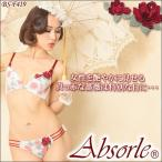 Absorle アブソール プレミアムロージー ブラ&ショーツ BS-F419