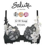 ワコール サルート salute 04グループ プッシュアップ 3/4カップブラジャー G・H・Iカップ BTJ404 セール slt04-p 送料無料