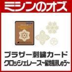 ブラザー 刺繍カード クロッシェレース- 編地風刺しゅう - ECD097