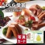 お歳暮 ギフト 送料無料 北海道 DLG受賞 ウインナー と バラエティセット 写真入り 名入れ カード お祝い 内祝い 出産内祝い 食べ物 人気 ランキング (SK)軽