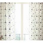 サンゲツ ACカーテン スヌーピー AC6136 巾100×丈121〜140cm(2枚入) SS縫製仕様 約1.5倍2つ山ヒダ