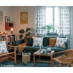 サンゲツ(ヨハンナ・エーン/スウェーデン)北欧デザイナーズカーテン SC3281 巾200×丈101〜120cm(2枚入) LP縫製仕様 約2倍 3つ山ヒダ 形態安定加工付