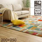 ウィルトン織 ラグ エデン 約200×250cm 約3畳 おしゃれ 絨毯 カーペット 輸入ラグ トルコ製 ウィルトン 長方形 父の日 母の日