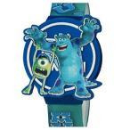 ディズニー キッズ 腕時計 モンスターズインク ユニバーシティー マイク サリー Disney Monsters University Kids LCD Watch with Molded Flip Top