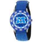 ディズニー キッズ 腕時計 モンスターズインク ユニバーシティー Disney Kids' W000891 Monsters Stainless Steel Time Teacher Blue Bezel Blue Nylon Stra