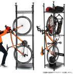 送料込★効率的な収納を実現する自転車の室内保管ラック★