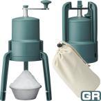 LIVE かちわり手動かき氷器 | IS-D-20GR | グリーン | 折畳式くるくる手動かき氷器 | ドウシシャ