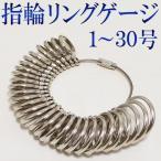 ★指輪のサイズを簡単に測れる★ 正確プロ仕様!30サイ