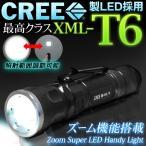 CREE社 超高輝度LED採用ズーム機能搭載!