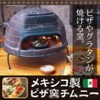 ◆送料無料◆ 本格ピザが自宅で焼ける!メキシコ製 家庭用ピザ焼き釜 CHIMNEY 陶器製オーブン 炭火料理 ドーム型 ガーデングリル 限定 即納 ◇ ピザ窯 チムニー