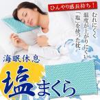 ◆激安セール◆ 身体に優しい!自然な快眠を 「塩」を使った枕 30cm マイナスイオン効果♪ 頭部を穏やかに冷やします♪ 肩コリ むれにくい 頭寒足熱 ◇ 塩まくら