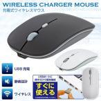 ワイヤレスマウス USB充電式 コードレスマウス 電池交換不要 USBレシーバー付属 光学式 無線 マウス 静音設計 PC 簡単接続 スリム 超薄型 ◇ マウスHAC2283