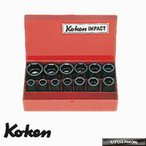 """Ko-ken 14241M 1/2""""sq. インパクトソケットセット"""