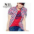 ショッピングJYJ NII  ジェジュン JEJUNG着用 ドラバプリント NII 半袖Tシャツ メンズファッション メンズ、レディース T-シャツ