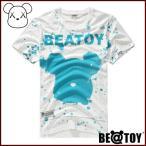正規品 BEATOY Snow BEATOY_Turquoise T-シャツ、半袖、tシャツ レディース 半袖 ロゴ メンズ 半袖 プリント ストリート 半袖T-シャツ