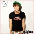 正規品 BEATOY Play Beatoy_D Navy T-シャツ、半袖、T-シャツ、半袖、tシャツ レディース 半袖 ロゴ メンズ 半袖 プリント ストリート