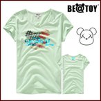 正規品 BEATOY Crover L Green T-シャツ、半袖、レディース、夏韓国雑貨 T-シャツ、半袖、tシャツ レディース 半袖 ロゴ メンズ 半