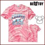 正規品 BEATOY Triple Beatoy pinkT-シャツ、半袖、メンズ、レディース、夏韓国雑貨 T-シャツ、半袖、tシャツ レディース 半袖 ロ