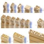 【富士インパルス・部品】 真鍮活字「0」〜「9」(2.4mm幅/合計10個) HP-362-N2/FEP-N2/FEP-OS-N2/HP-362-N1/HP-361/FEP-N1/FEP-OS-N1/FAP-364Sなどに対応
