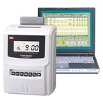 タイムレコーダー マックス タイムロボ ER-231S2/PC  パソコンでデータ編集可能(カード1箱プレゼント)