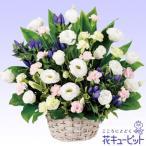お盆 花キューピットのお供え用のアレンジメント