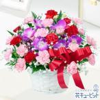 母の日ギフト 花キューピットのお母さんありがとう!アレンジメント