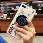 スマホケース iPhoneX iPhoneXsMAX iPhoneXR iPhoneX iPhone8 スマホカバー アイフォン ケース カメラ型 ジョイソケッツ ポップソケッツ スタンド 落下防止