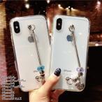 iPhoneX iPhoneXs MAX iPhoneXR iPhone8  アイフォン ケース アイホン i phone クリア ジュエリー風 かわいい 韓国
