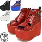 ショッピングブーツサンダル ヨースケ YOSUKE 厚底ブーツサンダル 靴 ブーサン レースアップ 2600886