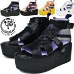 ショッピングブーツサンダル YOSUKE ヨースケ ブーツサンダル 厚底サンダル 靴 ブーツ ショート 2600888