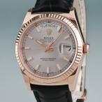 3年保証 ロレックス ROLEX デイデイト 時計 118135 ロジウム ランダム番 メンズ K18RG無垢 自動巻 2405000955547 中古