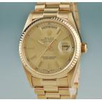 3年保証 ロレックス ROLEX デイデイト 時計 18038 9番 自動巻 メンズ K18YG無垢 2405001162234中古
