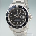 3年保証 ロレックス ROLEX/サブマリーナ デイト 16610 P番 OH済 ブラック 自動巻 メンズ 腕時計 ウォッチ 紳士 オートマチック 中古店頭受取対応商品