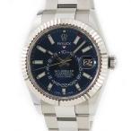 ロレックス ROLEX スカイドゥエラー GMT 326934 未使用 K18WGxSS ランダム番 ブルー 青 メンズ 腕時計 自動巻き ブルー 中古