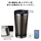 シンプルクリア ステンレスタンブラー(ブラック) 72個販売 マイボトル タンブラー ※名入可能商品