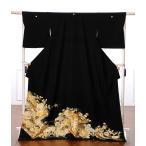 留袖 レンタル 黒留袖レンタルフルセット 着物 結婚式 貸衣装 桜流水 金駒刺繍