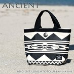 ANCIENT ランチトートバッグ アーバンネイティブ  レッド 758632