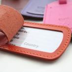 PT36 スーツケース ネームタグ イタリア製 牛革 DALLAITI ブランド 海外旅行 便利雑貨