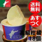 愛媛産高級柑橘ジェラート アイス18個 パーティー向け 送料無料
