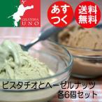 ピスタチオとヘーゼルナッツ 無香料無着色ペースト使用 ジェラート アイス12個 送料無料