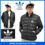アディダス adidas ジャケット メンズ セレイテッド ダウン ブラック オリジナルス(Serrated Down JKT Black Originals 男性用 AZ1355)