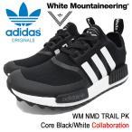 アディダス オリジナルス×White Mountaineering adidas Originals スニーカー メンズ WM ノマド トレイル PK Core Black/White(BA7518)