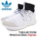 アディダス adidas スニーカー メンズ 男性用 チュブラー ドゥーム White/Core Black オリジナルス(TUBULAR DOOM Originals BA7554)