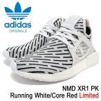 アディダス adidas スニーカー メンズ 男性用 ノマド XR1 PK Running White/Core Red オリジナルス(NMD XR1 PK Limited Originals BB2911)
