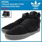 アディダス adidas スニーカー メンズ 男性用 チュブラー インベーダー ストラップ Core Black/Utility Black オリジナルス(TUBULAR BB8392)