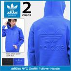 アディダス adidas プルオーバー パーカー メンズ NYC グラフィティ オリジナルス(NYC Graffiti Pullover Hoodie Originals BK7185 BK7184)