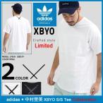 アディダス adidas Tシャツ 半袖 メンズ 中村里美 エックスバイオー コラボ オリジナルス(adidas×中村里美 XBYO S/S Tee BQ3053 BQ3054)