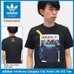 アディダス adidas Tシャツ 半袖 メンズ アンソニー ガルガズ シティ アーティスト ライフ オリジナルス(adidas×Anthony Gargasz BQ3067)